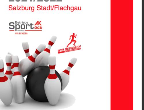 Salzburger Bezirkskegelmeisterschaft 2021/2022